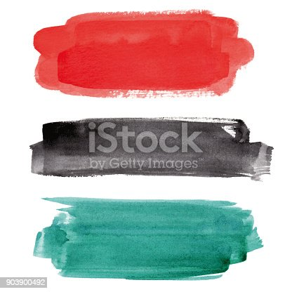istock Watercolor banner collection 903900492