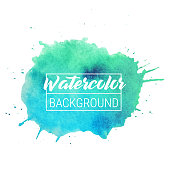 Watercolor blob vector text box background. Isolated watercolor blob vector for sale, web, banner. Watercolor blob vector text box, label for your design. Template of watercolor blob vector text box.
