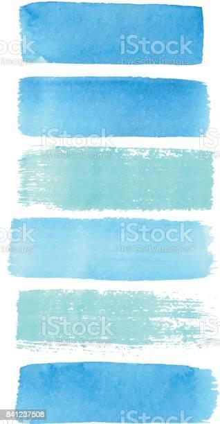Watercolor blue azure brush strokes texture in isolated vector for vector id841237508?b=1&k=6&m=841237508&s=612x612&h=cypgh9bekz0xkk xvvmdvc2gdrtegvhfsbaroxzlrn4=
