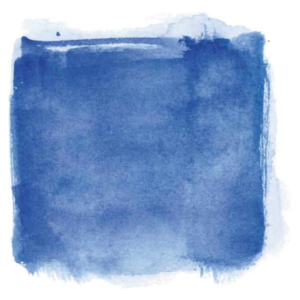 Watercolor blue background vector art illustration