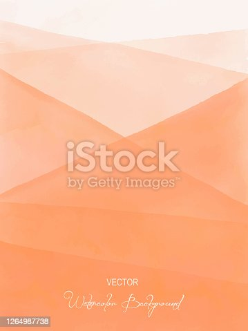 istock Watercolor Blue Gradient Abstract Background. Design Element for Marketing, Advertising and Presentation. Can be used as wallpaper, web page background, web banners. 1264987738