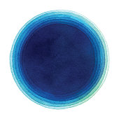 istock Watercolor Blue Gradient Circle Background 1222361848