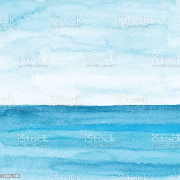 Watercolor blue ocean background vector id986442744?b=1&k=6&m=986442744&s=612x612&h=pu3k9umgwlxwxjzhbhdlg0 67whfonhbc3qxdgcsutm=