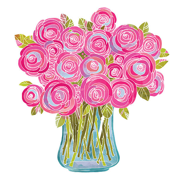 Royalty Free Flower Vase Clip Art Vector Images Illustrations
