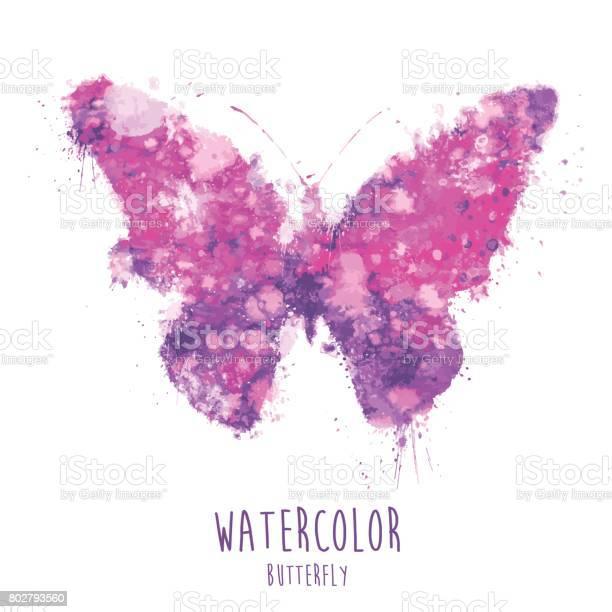Watercolor butterfly illustration vector id802793560?b=1&k=6&m=802793560&s=612x612&h=zrjxelbaqyev5bvdtskuh s9u3adnmvf9chbcgqgsys=