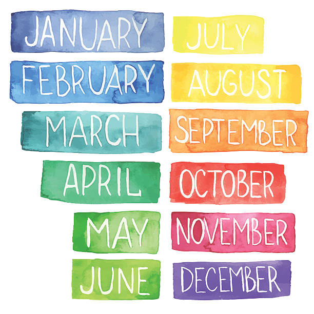 Best Month Illustrations, Royalty-Free Vector Graphics ...