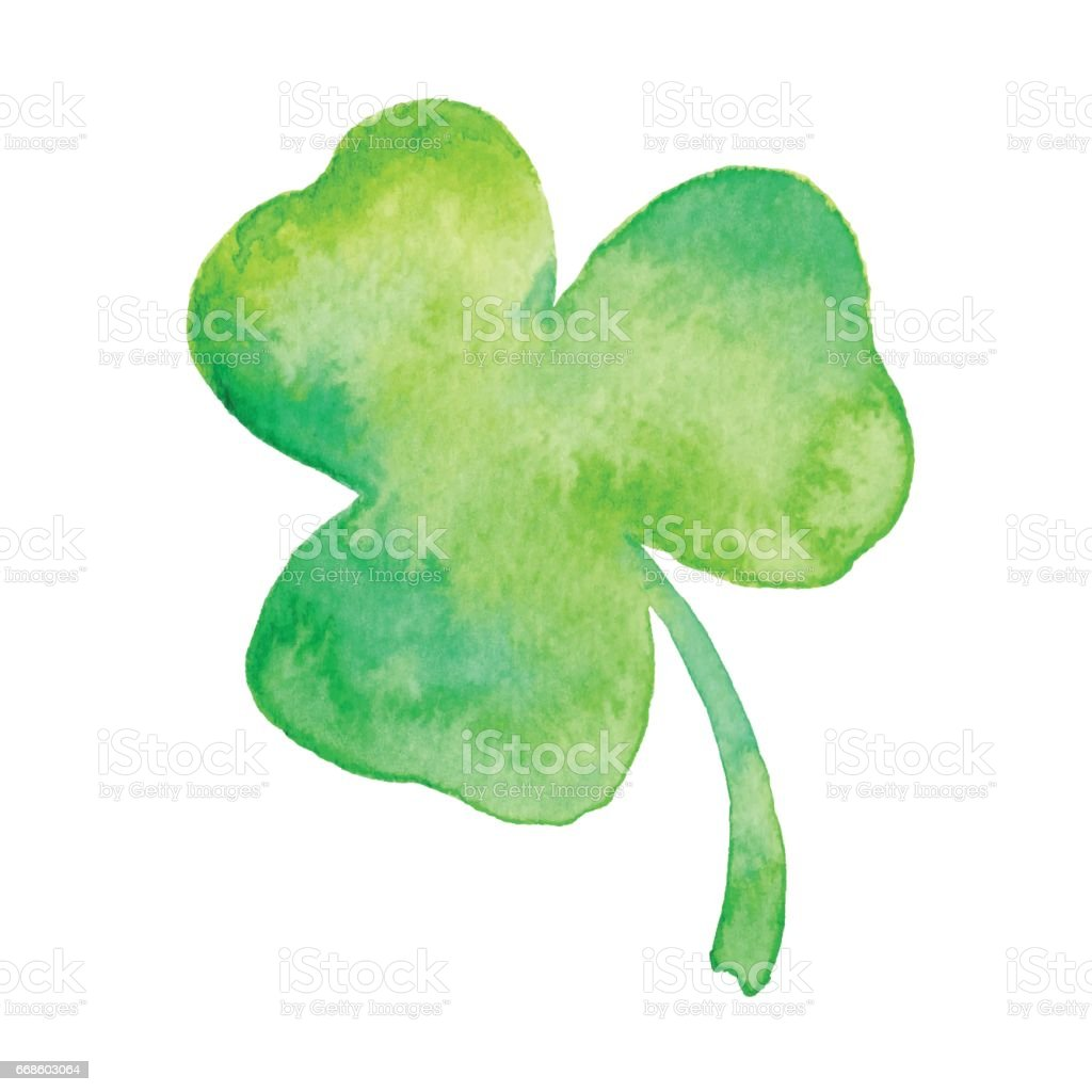 Watercolor Clover