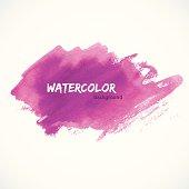 Vector illustration (eps 10) of Watercolor design