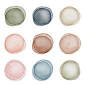 Vector illustration of Dot Backgrounds.