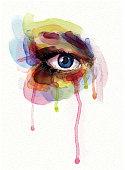 istock Watercolor Eye 505796670