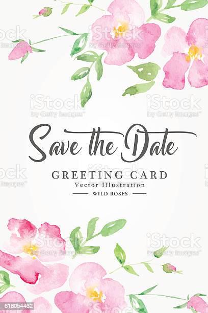 Watercolor floral background with pink wild roses vector id618054462?b=1&k=6&m=618054462&s=612x612&h=lt1ulhcfauodimq90md9xrtnuzueoh gzfzakzpfngk=