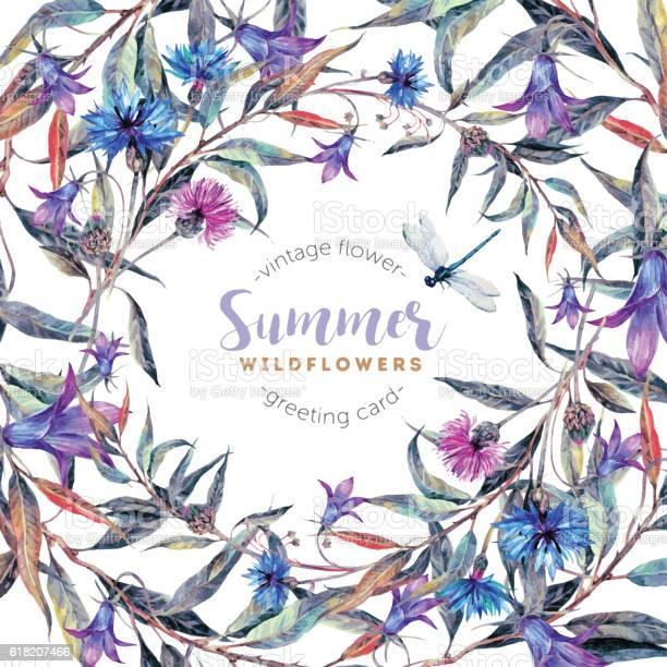 Watercolor floral frame made of wildflowers vector id618207466?b=1&k=6&m=618207466&s=612x612&h=a9yqqvsoe1boslzniob2xaoasiux fgfxycsoj1p bw=