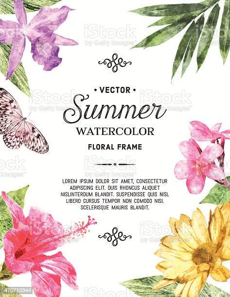 Watercolor floral frame vector id470710344?b=1&k=6&m=470710344&s=612x612&h=7fmznvmapjxfj fh0b1rjy3upeowkjhldfod qnjlck=