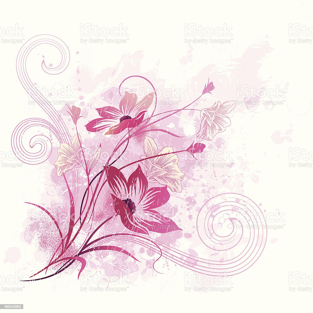 Watercolor floral royalty-free watercolor floral stock vector art & more images of backgrounds
