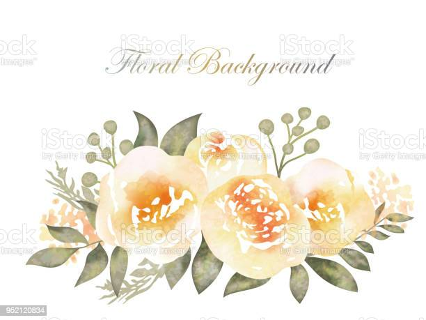 Watercolor flower background with text space vector id952120834?b=1&k=6&m=952120834&s=612x612&h=lhb1icxfbeg8q6o6fhwemuybj8gpudz2dkl70oymr8o=