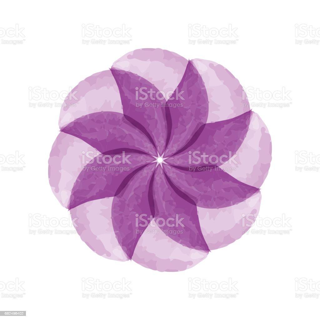 Watercolor flower royalty-free watercolor flower stok vektör sanatı & ağaç Çiçeği'nin daha fazla görseli