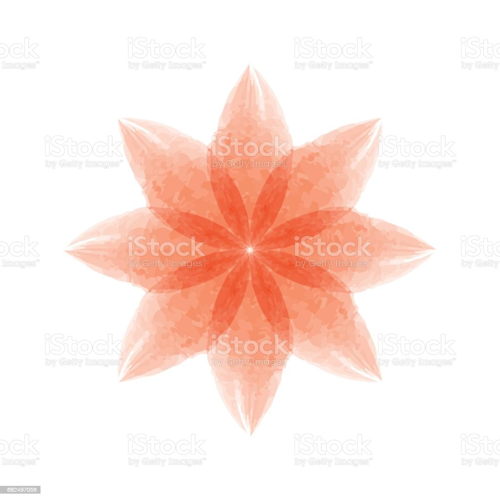 Watercolor flower royalty-free watercolor flower stock vector art & more images of abstract