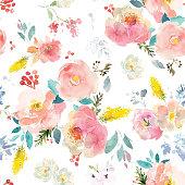 istock Watercolor Flowers Vector Format 1224405525