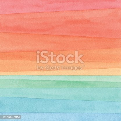 Vector illustration of watercolor gradient Background.