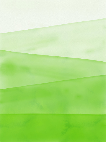 Watercolor Green Gradient Abstract Background. Design Element for Marketing, Advertising and Presentation. Can be used as wallpaper, web page background, web banners.