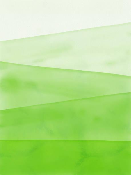 stockillustraties, clipart, cartoons en iconen met aquarel groene kleurovergang abstracte achtergrond. ontwerp element voor marketing, reclame en presentatie. kan worden gebruikt als achtergrond, web pagina achtergrond, web banners. - green background