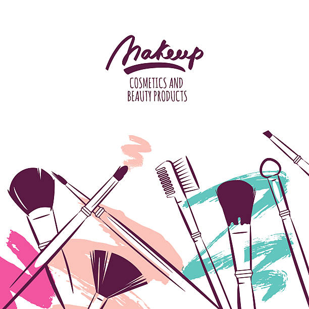 Eye Makeup Illustrations, Royalty-Free Vector Graphics