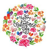 istock watercolor happy valentine's day card 1295479027