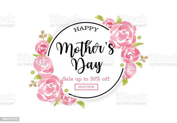 Watercolor mothers day greeting card with flowers background for for vector id680013432?b=1&k=6&m=680013432&s=612x612&h=6gx6lyogfm6mk56amxjygsxuyxiq9dldqzee6jlg1a8=