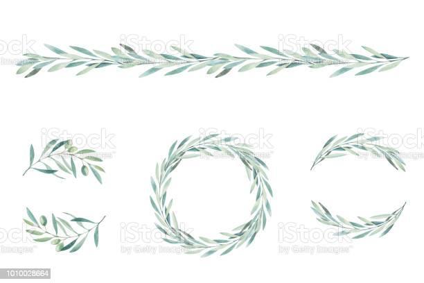 Watercolor olive branch sketch of olive branch on white background vector id1010028664?b=1&k=6&m=1010028664&s=612x612&h=uni0653vhnvgokffpbgcbdj6djkjt3t4qt 8e7fhnji=