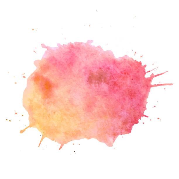 수채화 물감 페인트 blob 벡터 텍스트 상자입니다. 웹, 판매, 배너, 텍스트 상자에 대 한 격리 된 수채화 물감 페인트 blob입니다. 디자인에 대 한 blob 벡터 텍스트 상자를 페인트, 광고. 수채화 물감 - 수채화 물감 stock illustrations