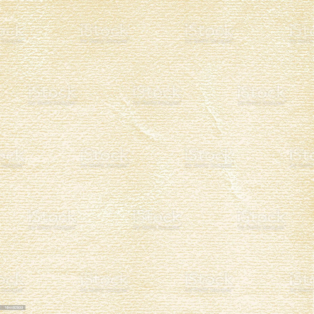 Watercolor paper. 1 credits. Old blank texture damages folds scratches royalty-free stock vector art