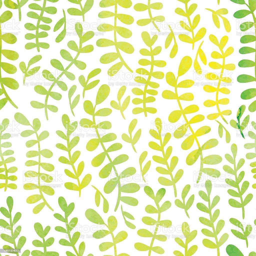 Watercolor pattern vector art illustration