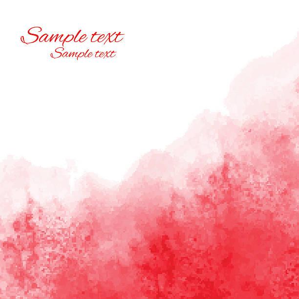 ilustrações, clipart, desenhos animados e ícones de aquarela fundo de textura ângulo de cor-de-rosa - planos de fundo borrados