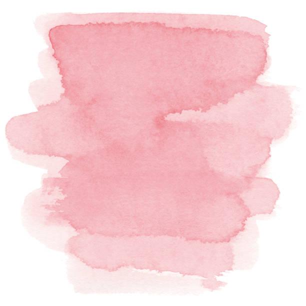 Watercolor pink background vector art illustration