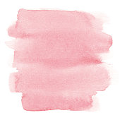 Vectorized watercolor pink background.