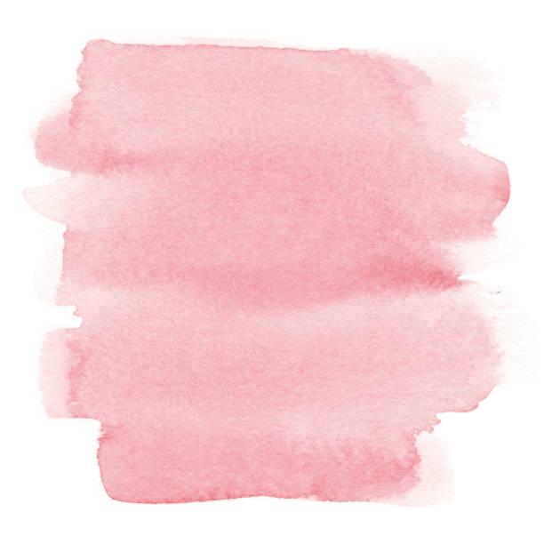 akwarela różowe tło - różowy stock illustrations