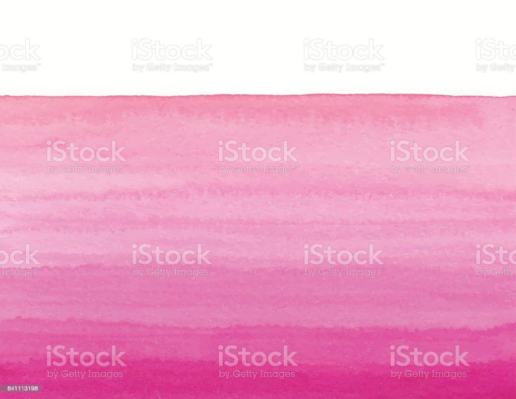 Watercolor Pink Gradient vector art illustration