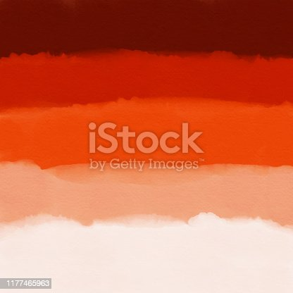 istock Watercolor Red Gradient Abstract Background. Design Element for Marketing, Advertising and Presentation. Can be used as wallpaper, web page background, web banners. 1177465963