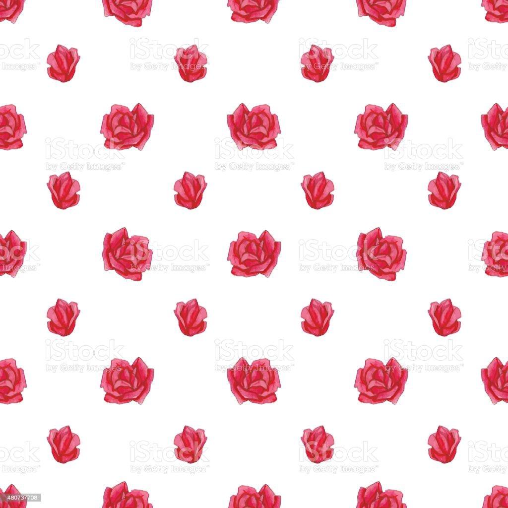 Watercolor roses royalty-free watercolor roses stock vector art & more images of 2015