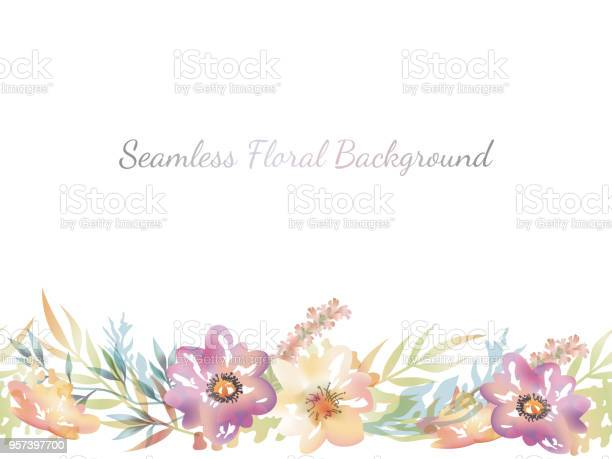 Watercolor seamless floral background with text space vector id957397700?b=1&k=6&m=957397700&s=612x612&h=gtxl2lm2pmehxjcvpsjqzahbhfrrksc jgeokwpytqe=