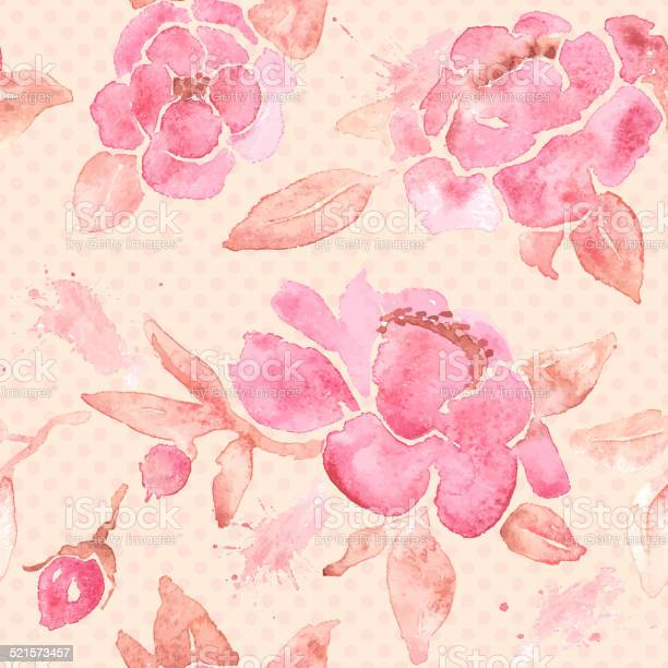 Watercolor seamless wallpaper with peony flowers in vector vector id521573457?b=1&k=6&m=521573457&s=612x612&h=2gl2ue 99uiek792 6ikjyzutp5kyeoskd8 r musvc=