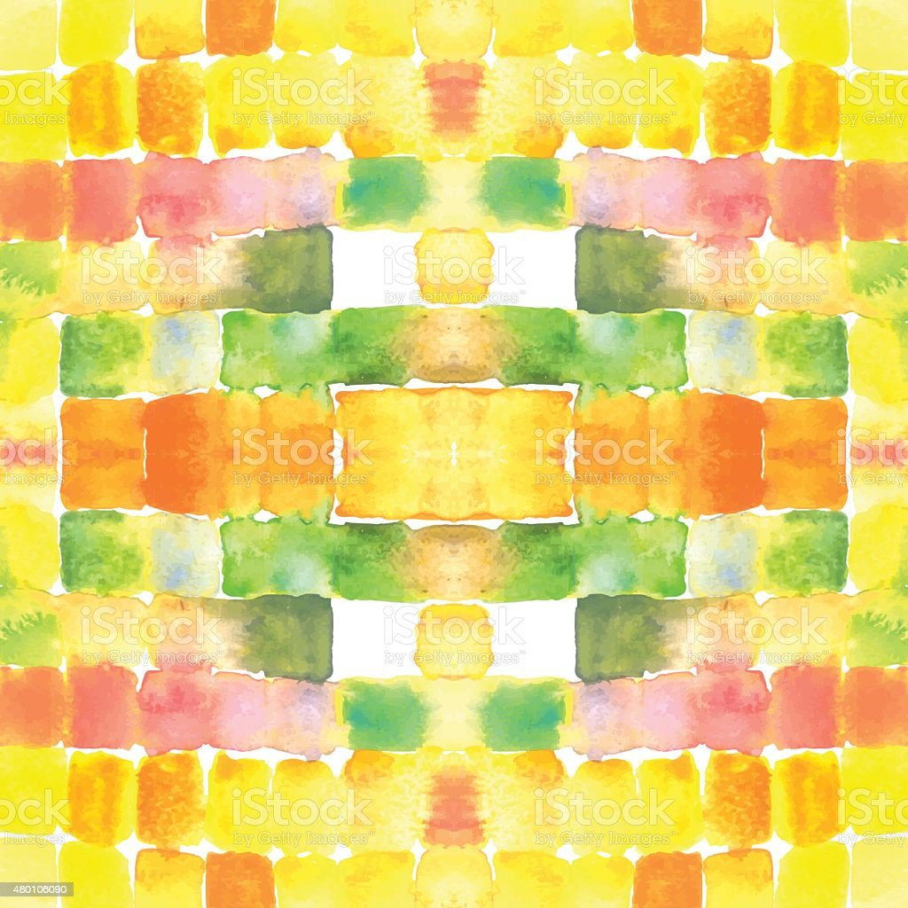 Watercolor stain glass background royalty-free watercolor stain glass background stock vector art & more images of 2015