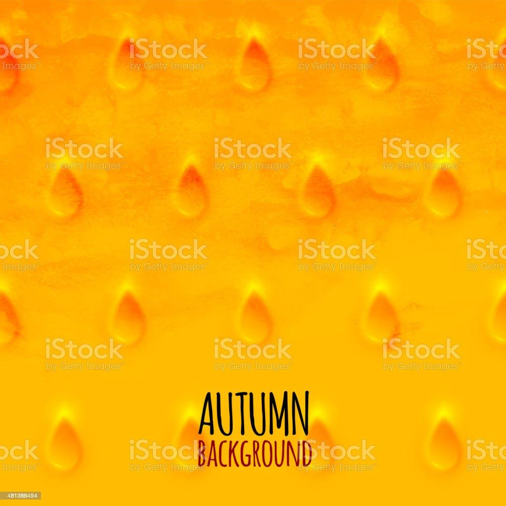 Aquarellstreifen Strahlendes Muster Gelb Orange Und Rot Farben Stock