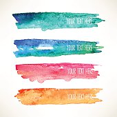 watercolor stroke backgrounds