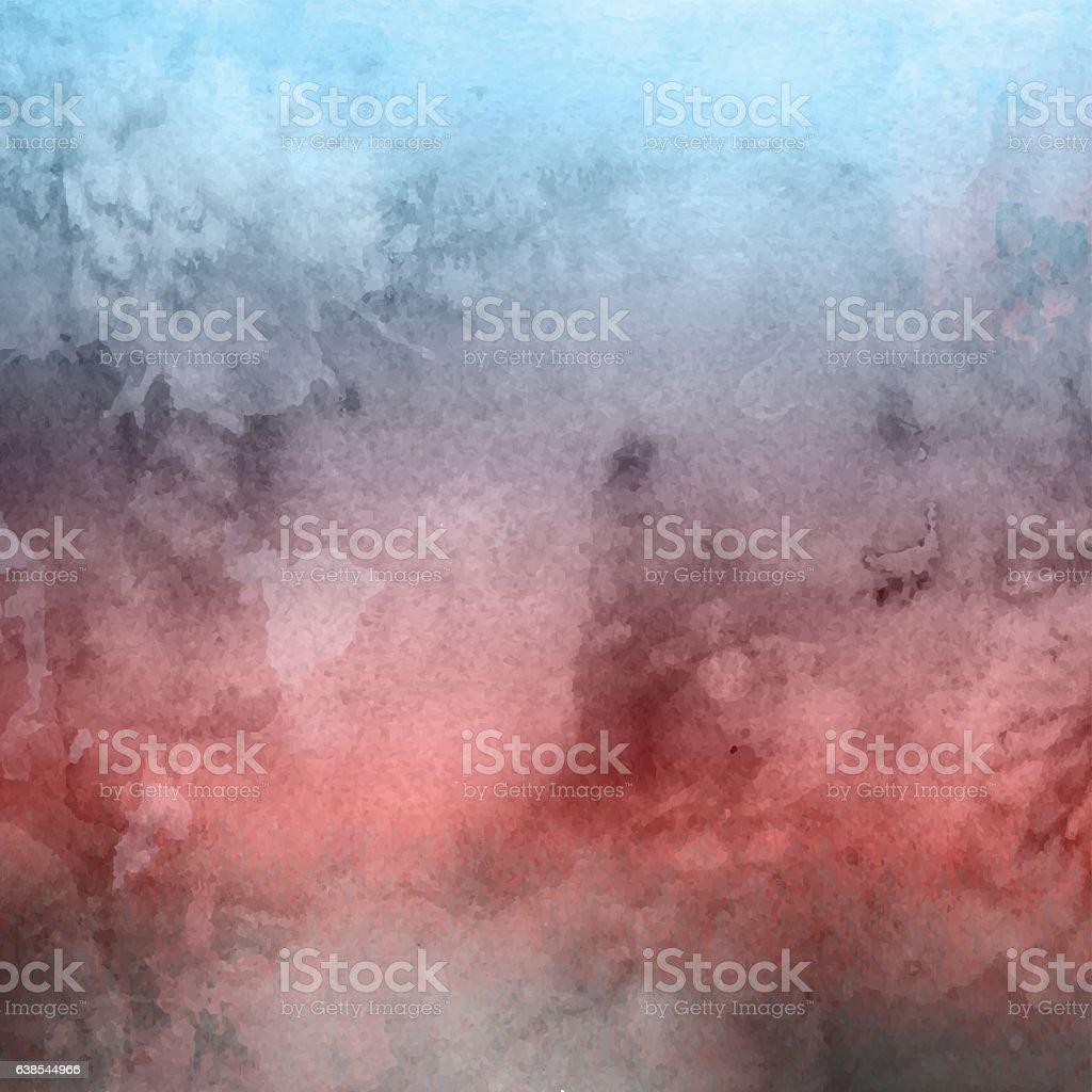 Watercolor texture background vector art illustration