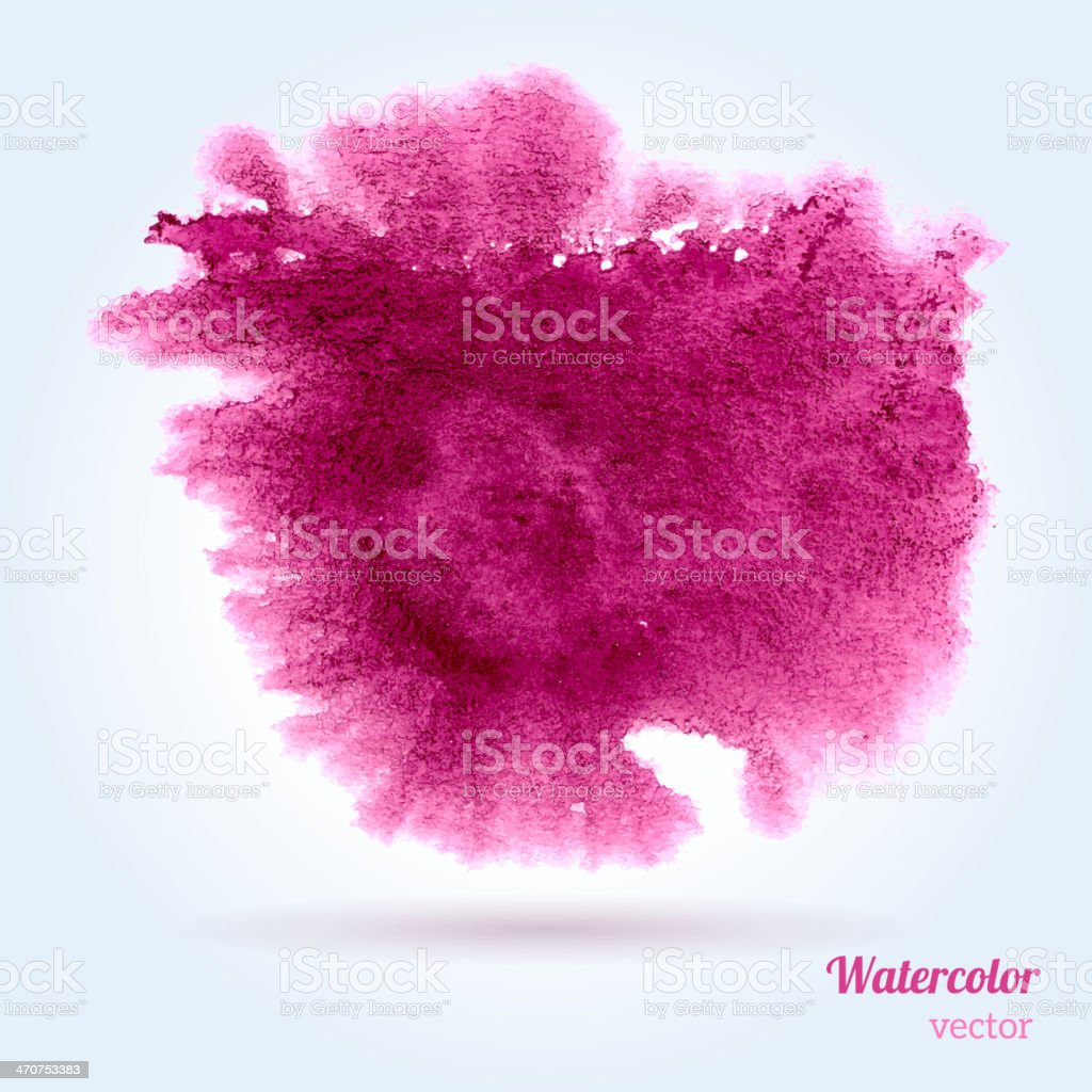 Watercolor texture. vector art illustration