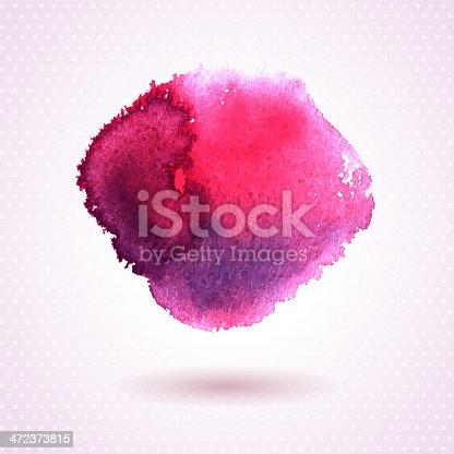 istock Watercolor texture. 472373815