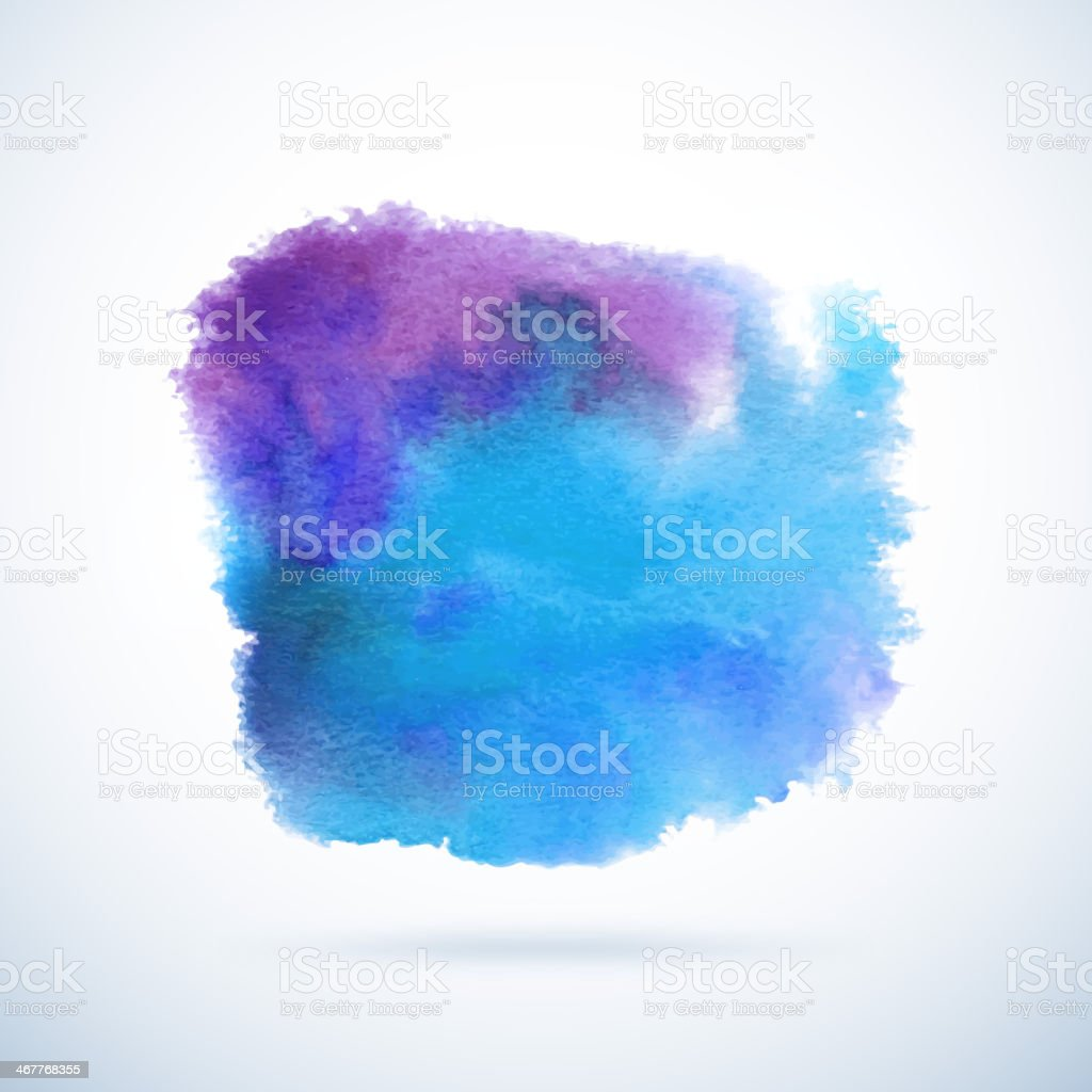 Watercolor vector background. Abstract grunge blob royalty-free watercolor vector background abstract grunge blob stock vector art & more images of abstract