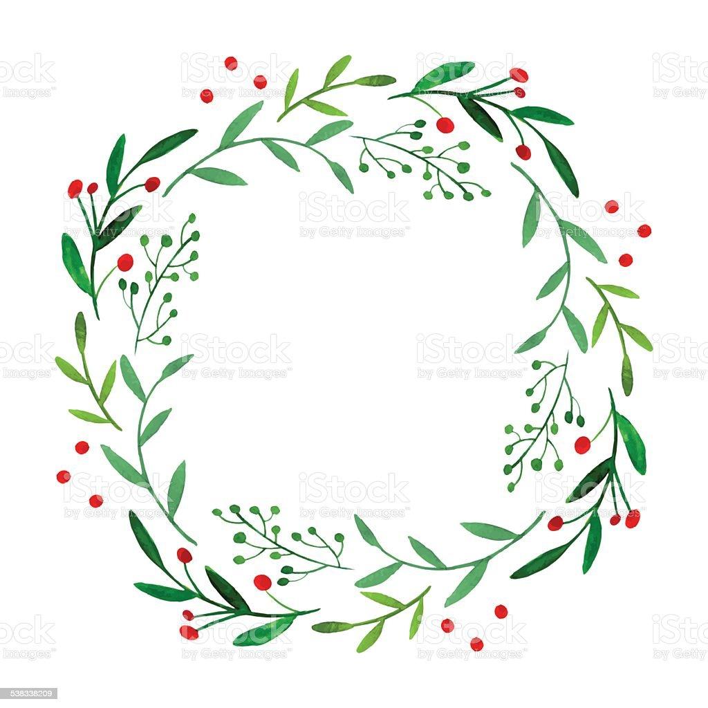 Christmas Wreath Design