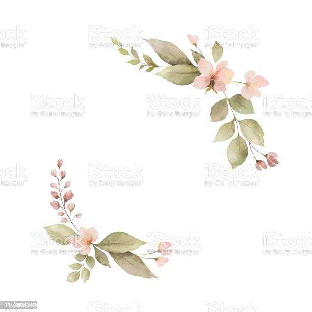 Watercolor wreath with leaves and flowers isolated on white vector id1153803340?b=1&k=6&m=1153803340&s=612x612&h=xsvw6i6x 1e 5egd5frhpmhd yx4t7pgqy83hnqqlqg=